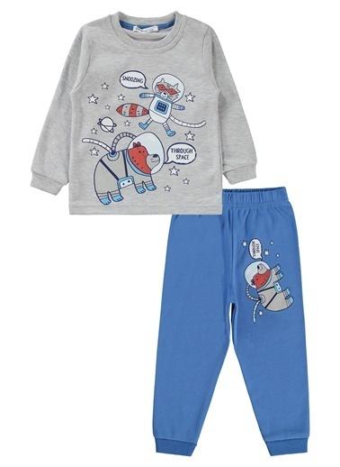 Civil Boys Pijama Takım Gri